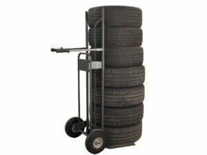 Carrello per pneumatici